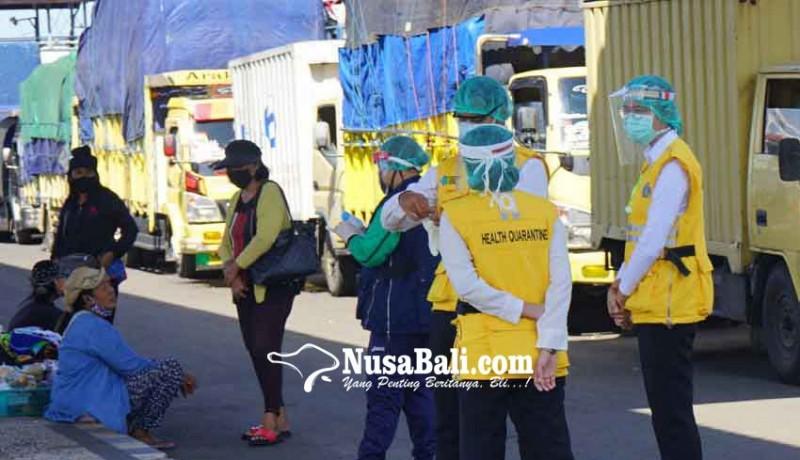 www.nusabali.com-di-padangbai-sopir-truk-nihil-pemeriksaan-rapid-test