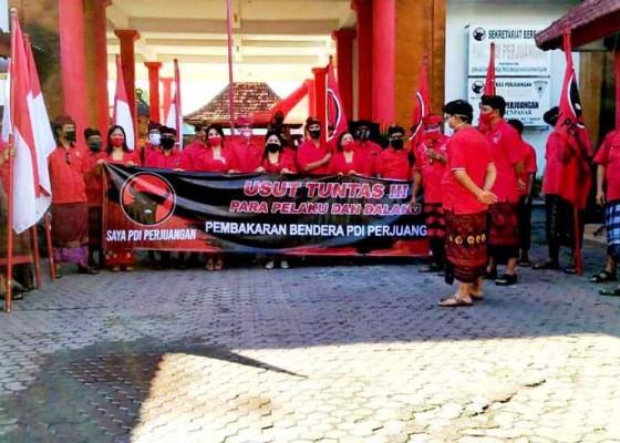 Nusabali.com - pdip-denpasar-minta-polisi-tegakkan-hukum