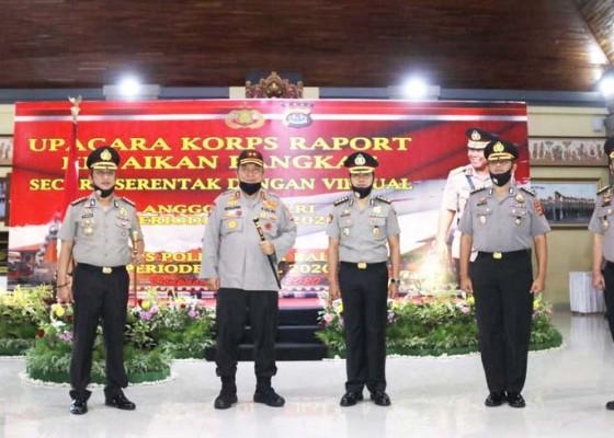 Nusabali.com - 805-personel-polda-bali-naik-pangkat