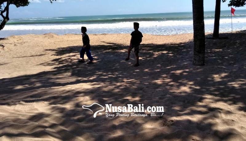 www.nusabali.com-pantai-kuta-masih-ditutup-untuk-umum