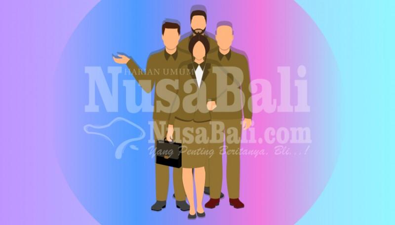 www.nusabali.com-pelantikan-tiga-pejabat-eselon-iib-hasil-lelang-jabatan-belum-jelas