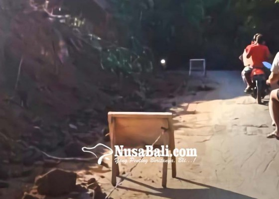Nusabali.com - jalan-tegenungan-telan-rp-19-m-dari-bnpb-pusat