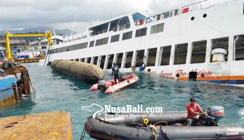 www.nusabali.com-air-laut-pasang-kapal-gagal-terapung