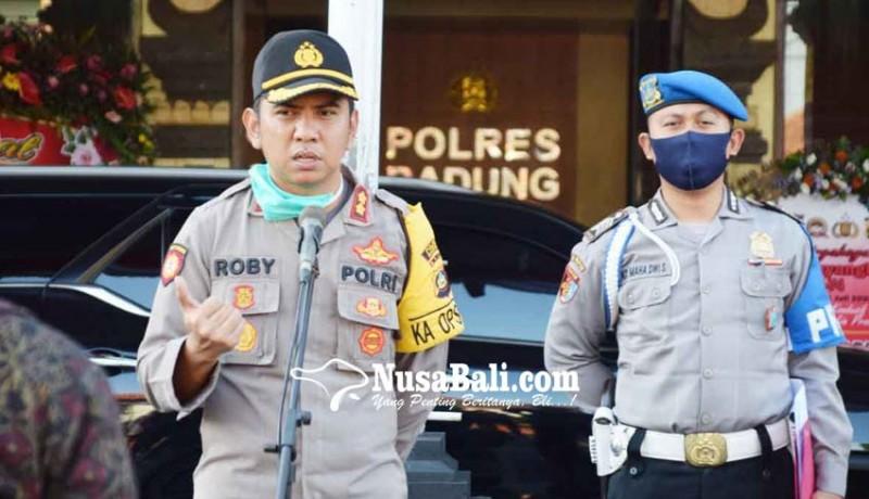 www.nusabali.com-polres-badung-siap-sambut-new-normal