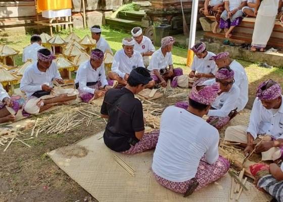 Nusabali.com - hari-ini-taman-prakerti-bhuana-beng-gelar-homa-pangenduh-jagat