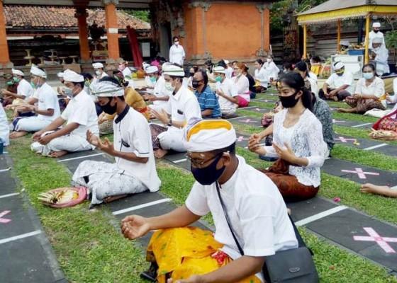 Nusabali.com - 32-murid-pasraman-kertajaya-jalani-upacara-samawarthana