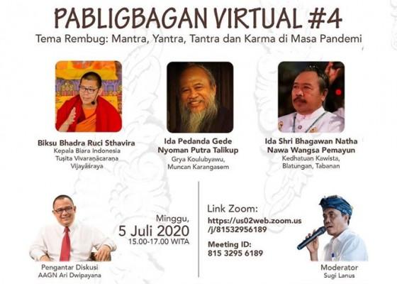 Nusabali.com - menawar-corona-dengan-mantra-hingga-karma