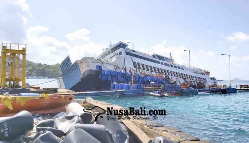 www.nusabali.com-tim-evakuasi-gagal-sejajarkan-posisi-kapal