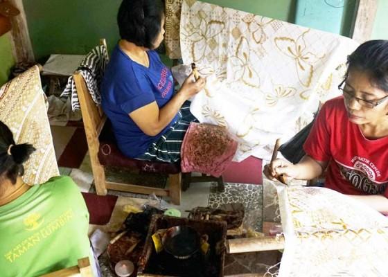 Nusabali.com - batik-tulis-taman-lumbini