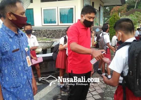 Nusabali.com - daftar-ulang-ppdb-sekolah-terapkan-protokol-kesehatan