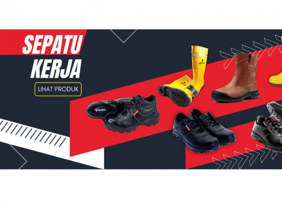 Nusabali.com - demi-keamanan-ekstra-pekerja-gudang-wajib-pakai-sepatu-safety