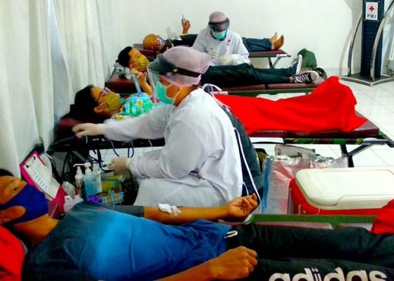 Nusabali.com - pmi-bali-kembali-gelar-donor-darah-berbagi