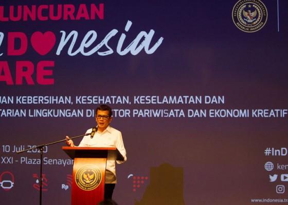 Nusabali.com - i-do-care-kampanye-protokol-kesehatan-untuk-industri-pariwisata-dan-ekonomi-kreatif