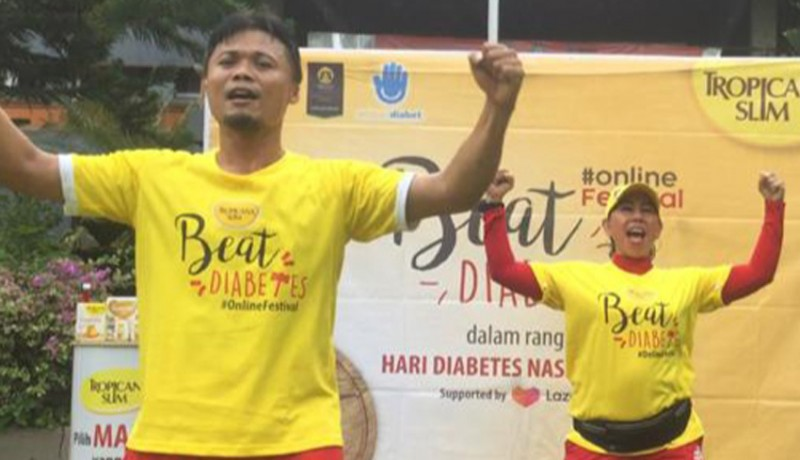 www.nusabali.com-tropicana-slim-ajak-masyarakat-aktif-lawan-diabetes