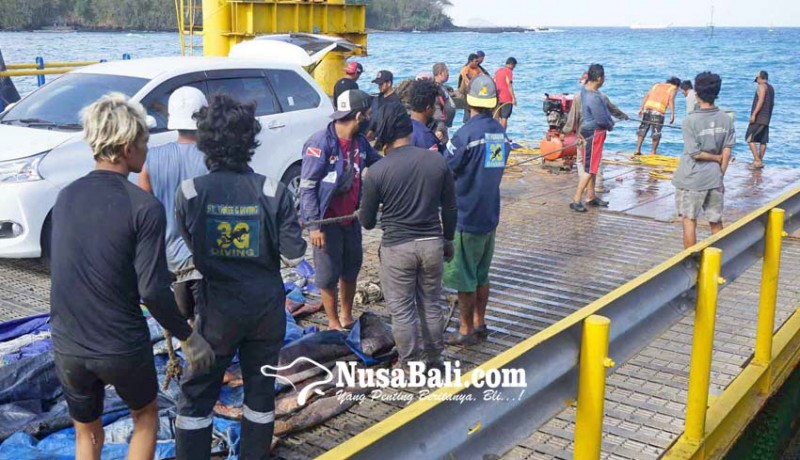 www.nusabali.com-20-penyelam-bersihkan-limbah-dermaga-ii