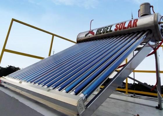 Nusabali.com - dukung-go-green-masyarakat-dihimbau-gunakan-water-heater-solar