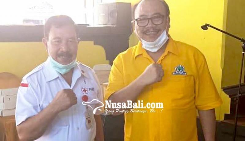 www.nusabali.com-golkar-bali-kumpulkan-1050-kantong-darah