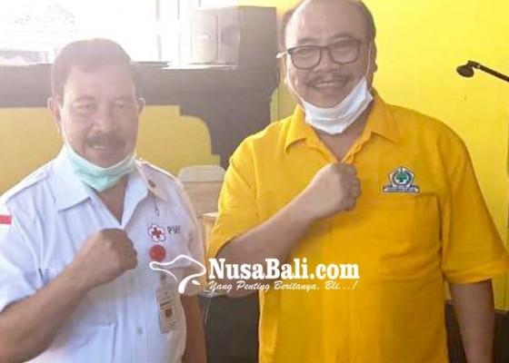 Nusabali.com - golkar-bali-kumpulkan-1050-kantong-darah