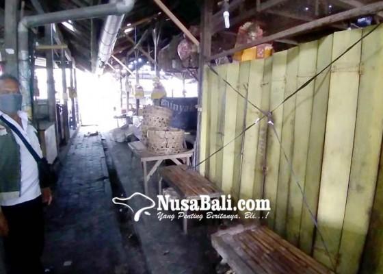 Nusabali.com - pedagang-protes-di-swab-dua-kali