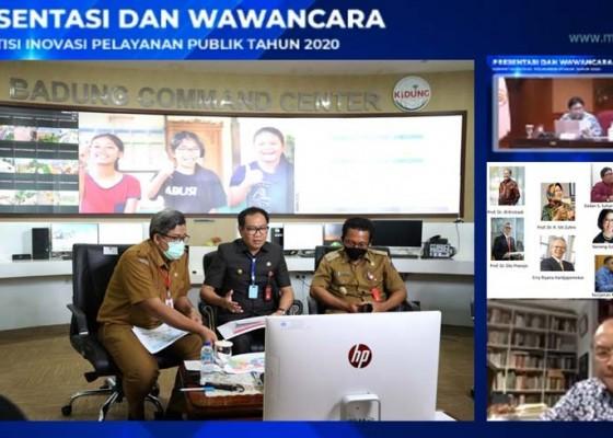 Nusabali.com - wabup-suiasa-presentasikan-inovasi-garbasari-di-hadapan-tim-panelis-kipp-2020