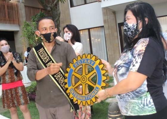 Nusabali.com - mantan-bendesa-kedewatan-jabat-presiden-rotary-club-bali-denpasar