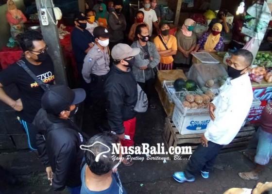 Nusabali.com - 16-pedagang-menolak-di-swab-test