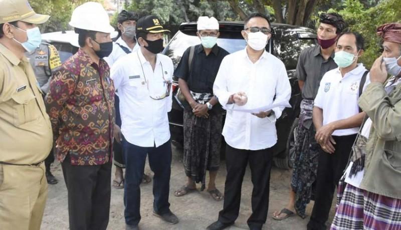 www.nusabali.com-wawali-jaya-negara-tinjau-pembangunan-fisik-smpn-14-denpasar