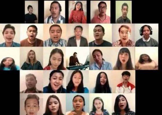 Nusabali.com - vob-bawakan-lagu-kasih-secara-virtual