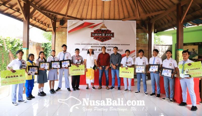 www.nusabali.com-cv-lagas-jaya-pacu-kreativitas-siswa-smk-se-bali-lewat-lomba-menggambar-bangunan