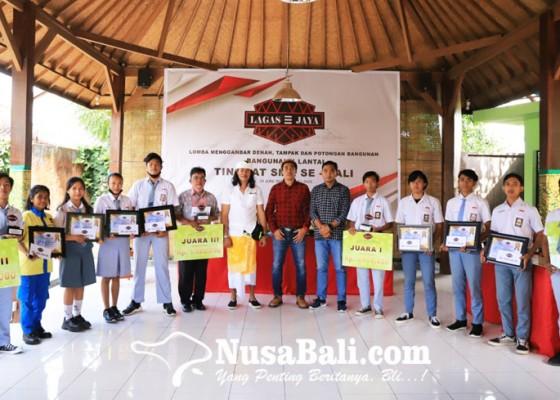 Nusabali.com - cv-lagas-jaya-pacu-kreativitas-siswa-smk-se-bali-lewat-lomba-menggambar-bangunan