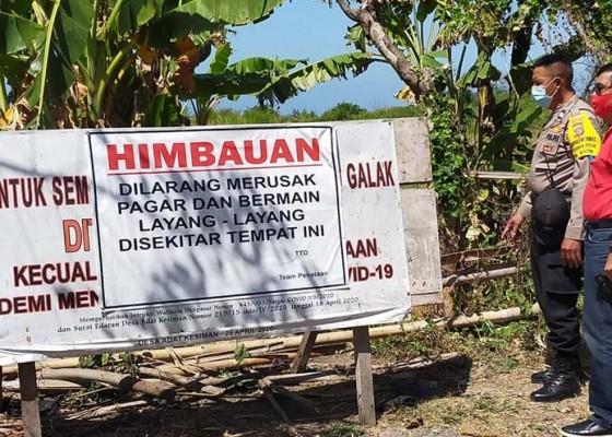 Nusabali.com - kawasan-pantai-padanggalak-ditutup-untuk-melayangan