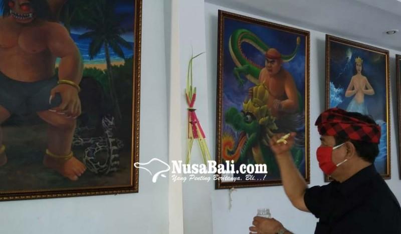 www.nusabali.com-rochineng-pasupati-5-lukisan-makhluk-gaib-di-rumahnya