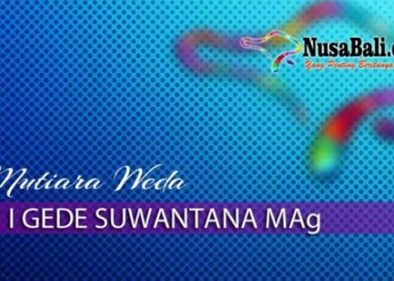 Nusabali.com - mutiara-weda-makna-alternatif-tumpek-landep