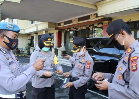 Nusabali.com - jelang-operasi-patuh-lempuyang-propam-polres-badung-tegakkan-disiplin-anggota