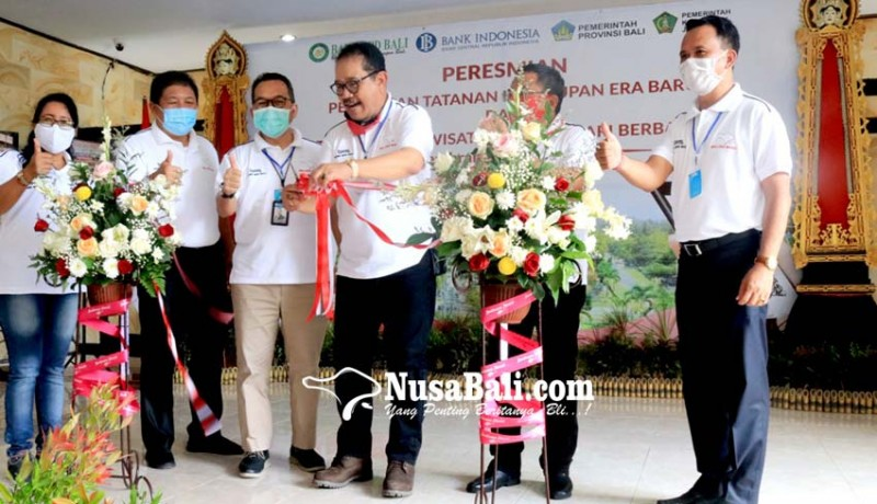 www.nusabali.com-wakil-gubernur-cok-ace-launching-desa-wisata-blimbingsari-berbasis-digital