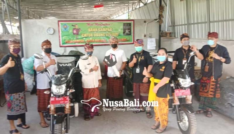 www.nusabali.com-bank-sampah-catur-ubung-lestari-tanggulangi-sampah-menjadi-rupiah