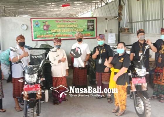 Nusabali.com - bank-sampah-catur-ubung-lestari-tanggulangi-sampah-menjadi-rupiah