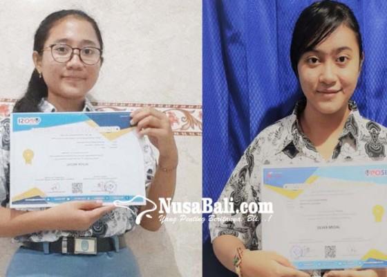 Nusabali.com - siswi-sman-1-singaraja-raih-medali-perak-kompetisi-sains-nasional-online