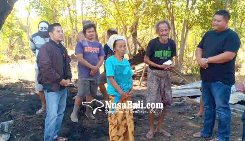 www.nusabali.com-ketua-fraksi-nasdem-bantu-korban-kebakaran