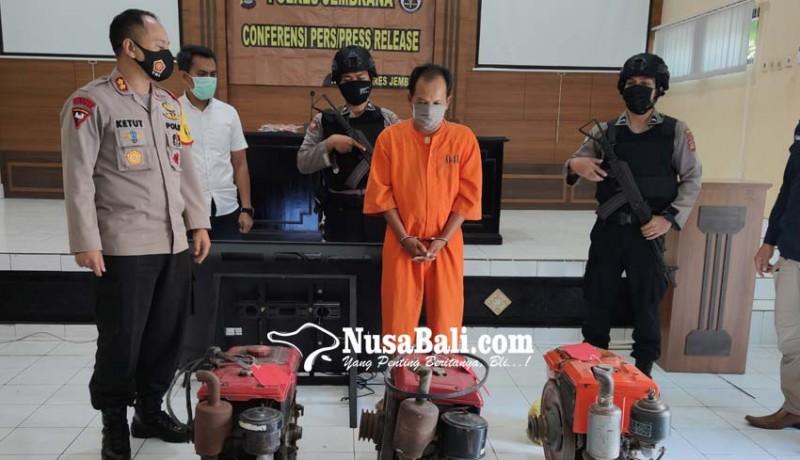 www.nusabali.com-anggota-sindikat-pencuri-mesin-traktor-diringkus