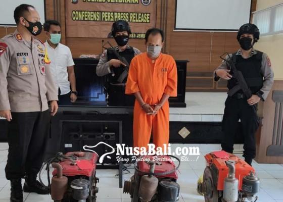 Nusabali.com - anggota-sindikat-pencuri-mesin-traktor-diringkus