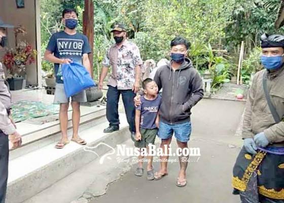 Nusabali.com - 7-kk-desa-peringsari-jalani-karantina-mandiri