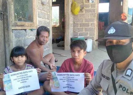 Nusabali.com - relawan-bantu-dua-anak-sd