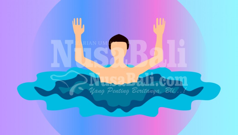 www.nusabali.com-mandi-di-laut-kakak-adik-terseret-arus