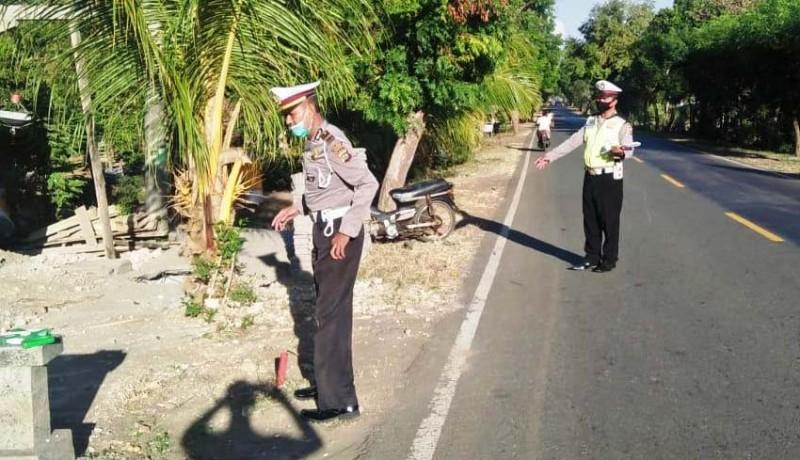www.nusabali.com-jupiter-tabrak-pasutri-istri-tewas-suami-tak-sadarkan-diri
