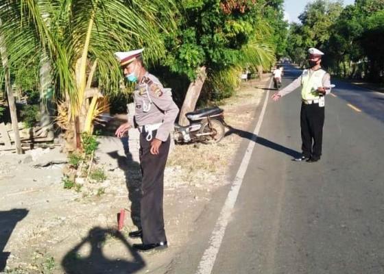 Nusabali.com - jupiter-tabrak-pasutri-istri-tewas-suami-tak-sadarkan-diri