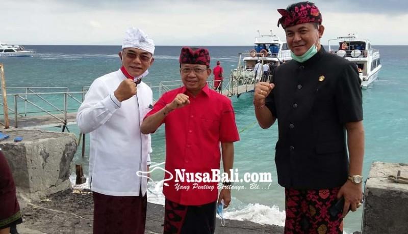 www.nusabali.com-gubernur-koster-bereskan-biaya-renovasi-pura-dalem-setra-batununggul