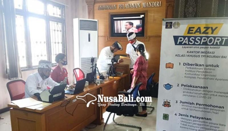 www.nusabali.com-tekan-kerumunan-imigrasi-ngurah-rai-terapkan-jemput-bola-untuk-pengurusan-paspor