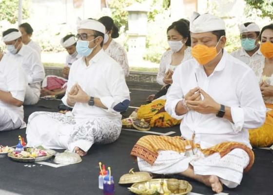 Nusabali.com - piodalan-pura-praja-natha-kantor-walikota-denpasar