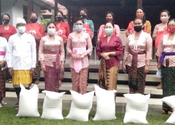 Nusabali.com - tp-pkk-gianyar-serahkan-bantuan-sembako-tahap-ii-ke-pkk-desa